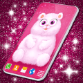 Cute Fluffy Live Wallpaper ❤️ Hearts Wallpapers Icon