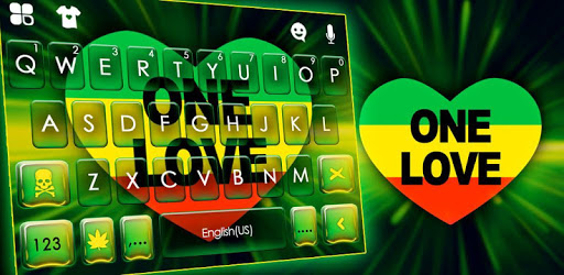 One Love Reggae Keyboard Theme apk