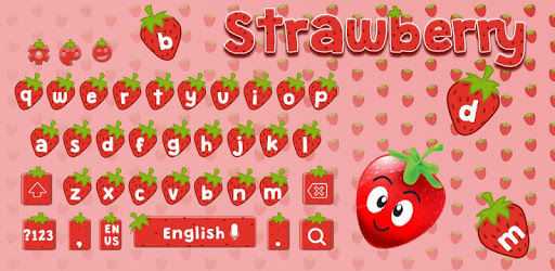 Red Strawberry Keyboard apk