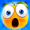 Gravity Orange 2 -- cut the rope brain puzzle challenge game Icon