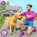 Virtual Dog Home Adventure Family Games Icon