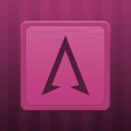 Wooden Icons Pink Icon