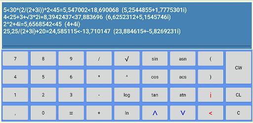 Calculadora Complejos (Complex Calculator) apk
