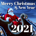 Merry XMAS Wishes Messages & Happy New Year 2021 Icon