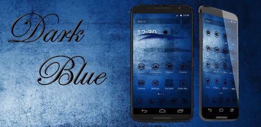 Dark Blue Theme apk
