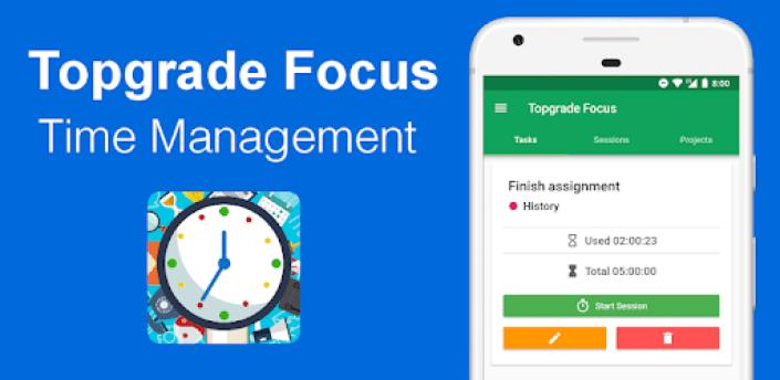 Time Tracker - Time Management - Topgrade Focus apk