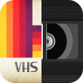 VHS Camcorder Camera - Glitch Effects Icon
