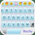 Blue Sky Emoji Keyboard Theme Icon