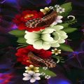 Butterflies Flowers LWP Icon