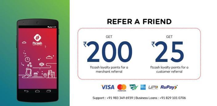 ftcash - Payments by Card, UPI QR & Business Loans apk