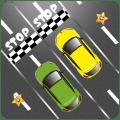 Two car Traffic Rush Icon