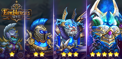 Epic Heroes: Action + RPG + strategy + super hero apk