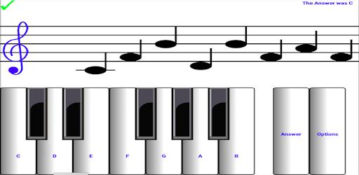 ¼ learn sight read music notes - piano sheet tutor apk
