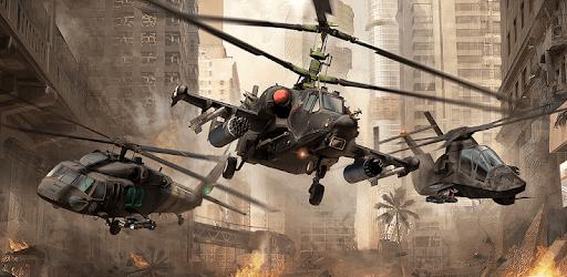 Modern War Choppers: Wargame Shooter PvP Warfare apk