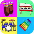 Music Instruments: Kids Icon