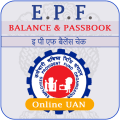 EPF Balance Check , PF Passbook UAN App Icon