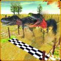 Dinosaur Racing Jurassic Run Icon