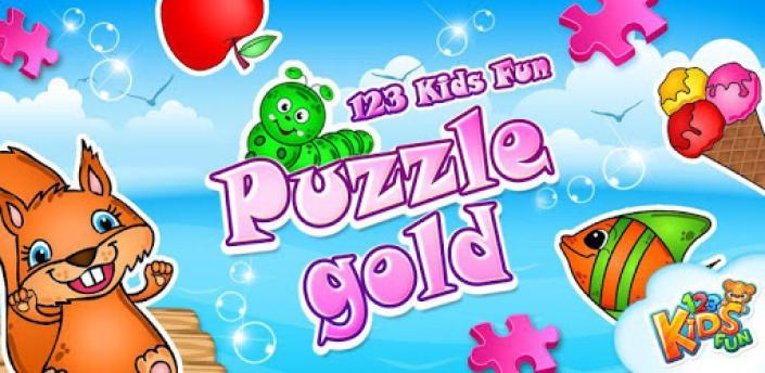 123 Kids Fun PUZZLE GOLD Free apk