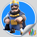 Clash Royale Stickers for WhatsApp Icon