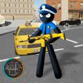 Amazing Police Stickman Rope Hero Gangster Vegas Icon