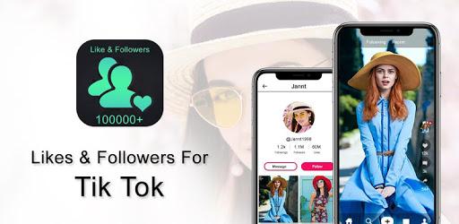 Followers & Likes For tik tok Free apk