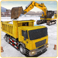 Snow Heavy Excavator Machine Simulator Icon
