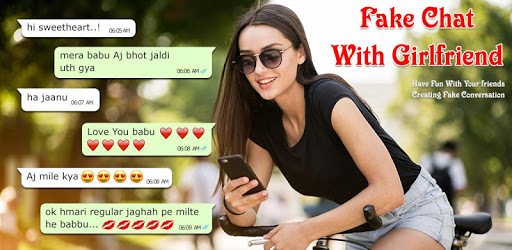 Fake Chat With Girlfriend : Fake Conversations apk