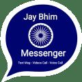 Jay Bhim Messenger - Chat & Audio, HD Video Call Icon