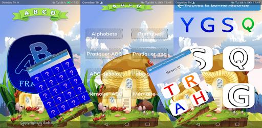 Alphabet français jeux éducatifs apk