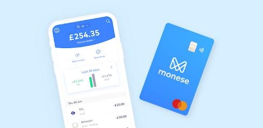 Monese - Mobile Money Account for UK & Europe apk