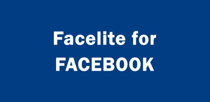 Facelite for Facebook Lite  FB apk