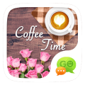 (FREE) GOSMS COFFEE TIME THEME Icon