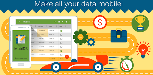 MobiDB Database - relational database app apk