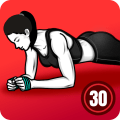 Plank Workout - 30 Days Plank Challenge Free Icon