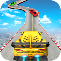 Impossible Car Stunt GT Ramp Racing Tracks 3D Icon
