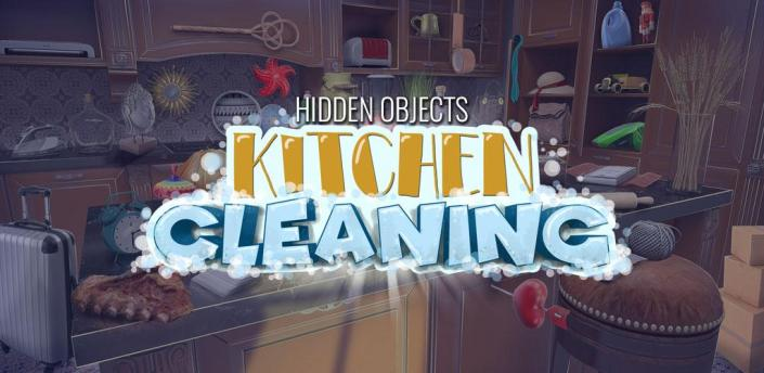 Hidden Objects Kitchen Cleaning Game apk