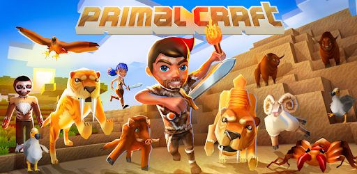 PrimalCraft: Cubes Craft & Survive Game apk
