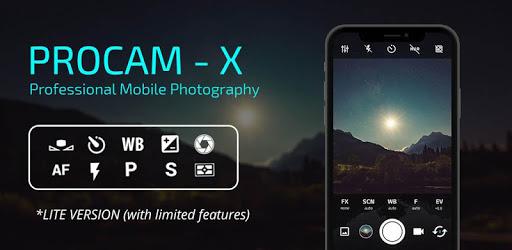 ProCam X : HD Camera Pro (Lite version) apk