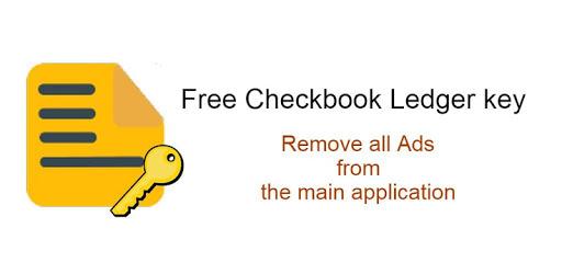 Checkbook Ledger Key (Remove Ads) apk