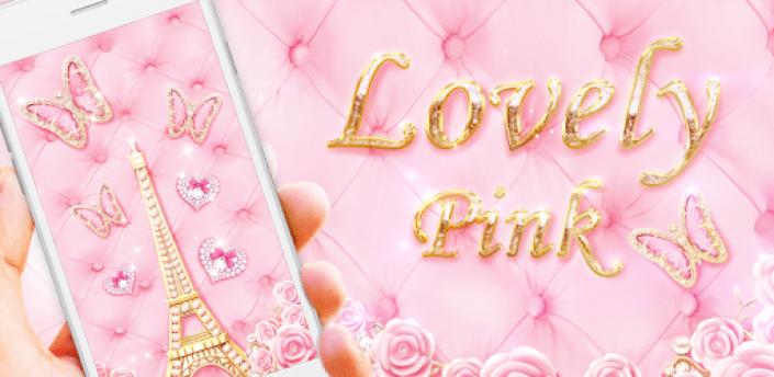 Pink Butterfly Live Wallpaper apk