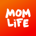 Mom.life — pregnancy tracker and chat for moms. Icon