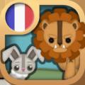 Le lapin et le lion - Fable Icon