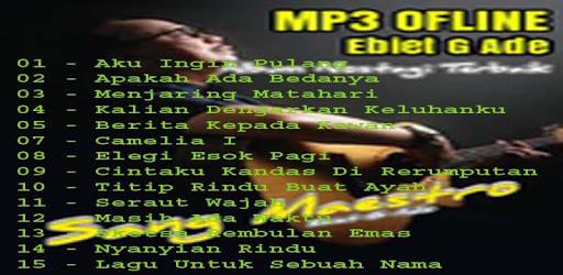 Musik Ebiet G Ade Ofline apk