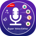 Super Voice Editor : Voice Changer - Audio Effect Icon