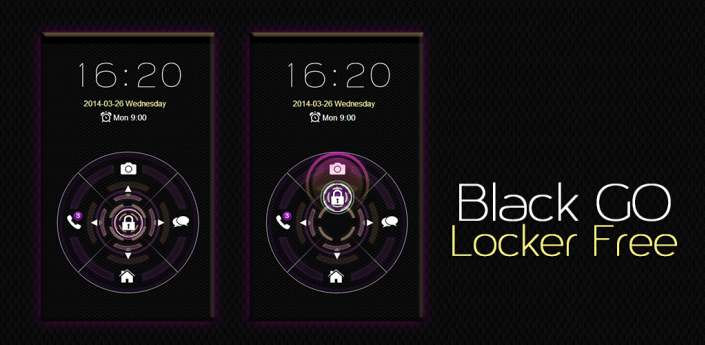 Black GO Locker Free apk
