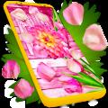 Flower Petals Live Wallpaper 🌹 Parallax Wallpaper Icon
