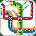 Maps of Underground (Tube) Icon