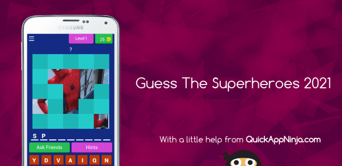 Guess The Superheroes 2021 apk