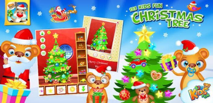 123 Kids Fun CHRISTMAS TREE apk