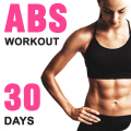 Abs Workout for Women - Lose Belly Fat in 30 Days Icon